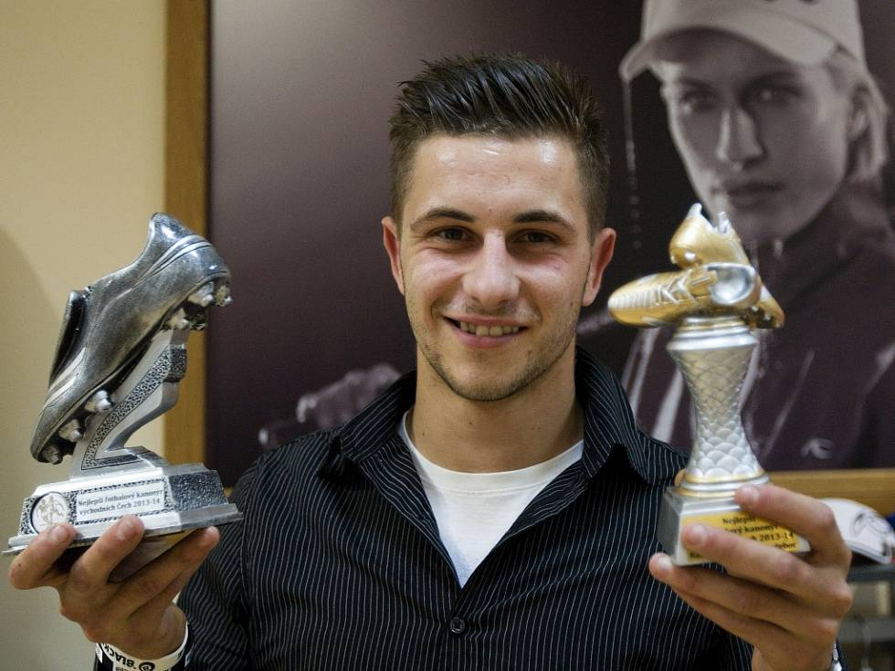 vyhlášení soutěže nejlepší fotbalový kanonýr východních Čech
